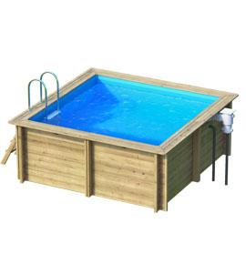 G n ration bien tre magasin de piscines bois en kit for Accessoire piscine belgique